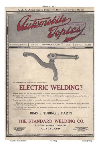 Auto Topics | 1911 May 13
