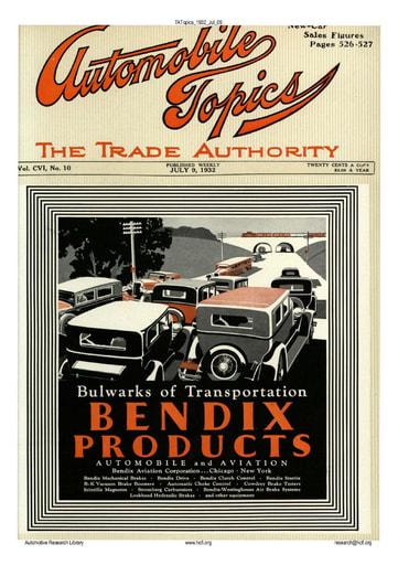 Auto Topics | 1932 Jul 09