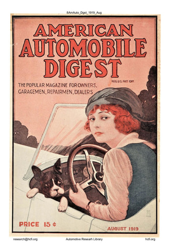 American Automobile Digest - 1919 August