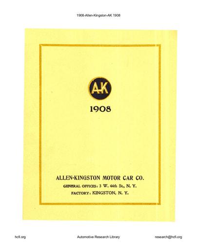 1908 Allen Kingston (12pgs)