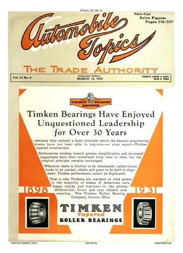 Auto Topics | 1931 Mar 14
