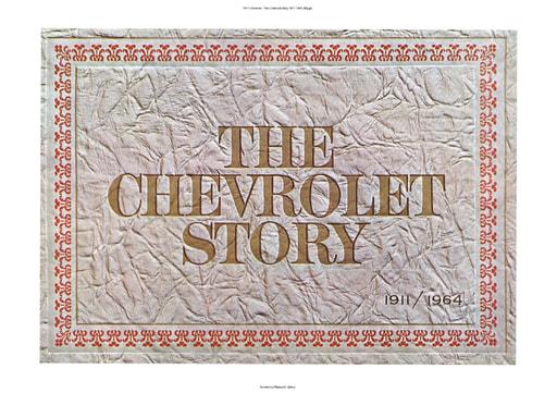 1911 Chevrolet   The Chevrolet Story 1911 1964 (83pgs)