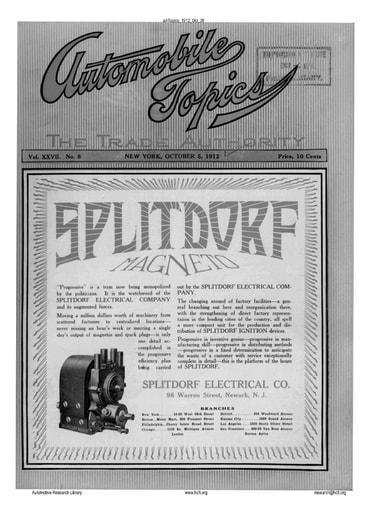 Auto Topics | 1912 Oct 05