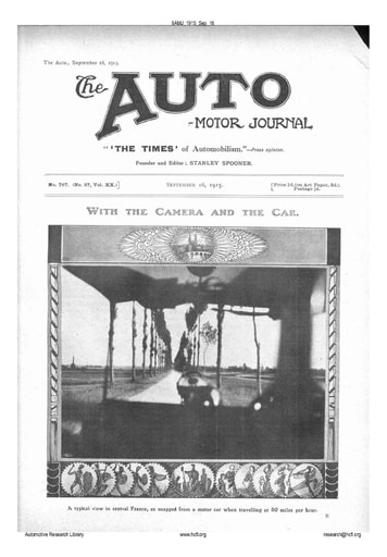 Auto Motor Journal | 1915 Sep 16