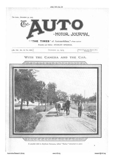 Auto Motor Journal | 1915 Dec 30