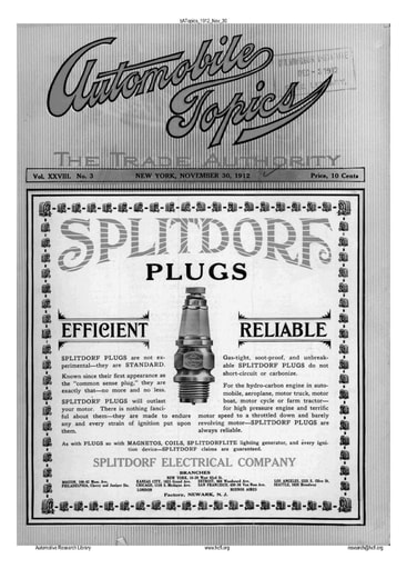 Auto Topics | 1912 Nov 30