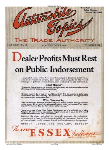 Auto Topics | 1930 May 03