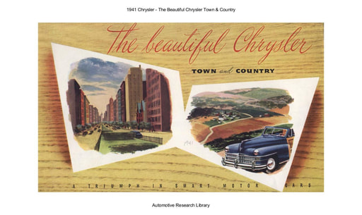 1941 Chrysler   Town & Country (8pgs)