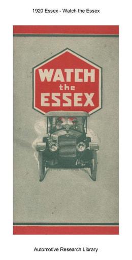 1920 Essex   Watch the Essex (16pgs)