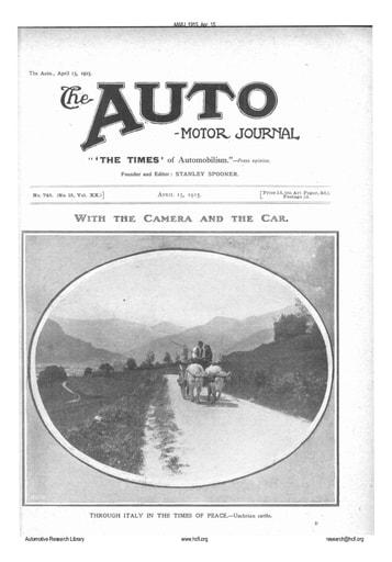 Auto Motor Journal |  1915 Apr 15