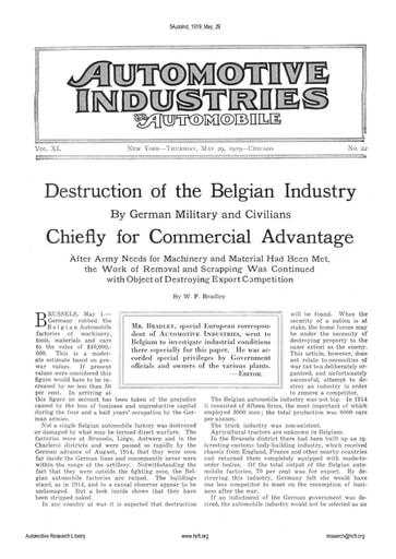 Auto Industries 1919 05 29