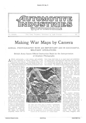 Auto Industries 1918 09 19