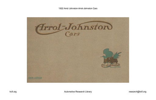 1922 Arrol Johnston (26pgs)