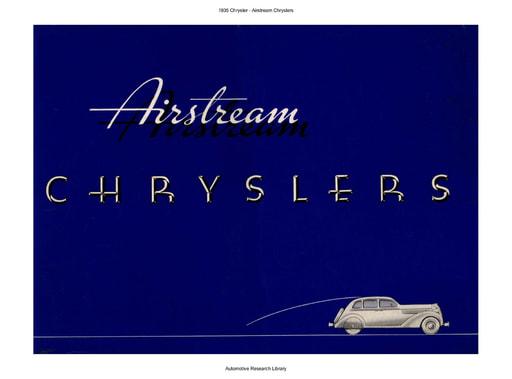 1935 Chrysler   Airstream (24pgs)
