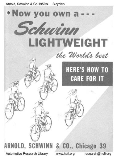1950's Est  Arnold, Schwinn & Co