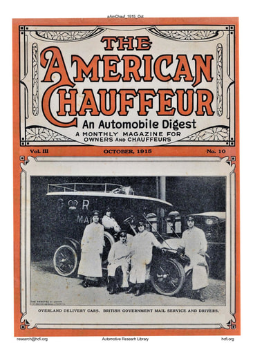 American Chauffeur | 1915-10 Oct