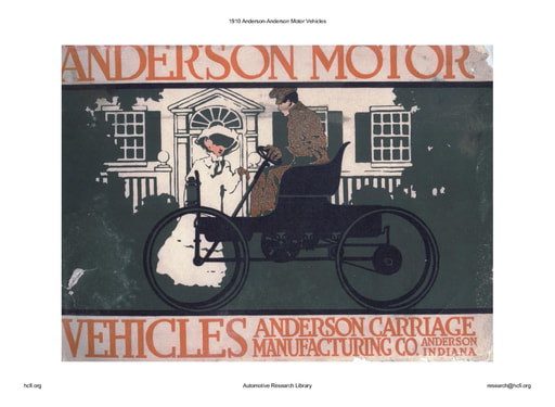 1910 Anderson Motor Vehicles (37pgs)