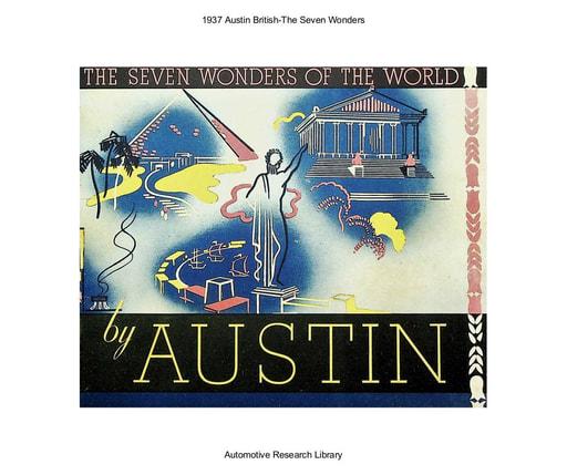 1937 Austin British The Seven Wonders (20pgs)