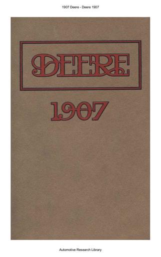 1907 Deere (19pgs)