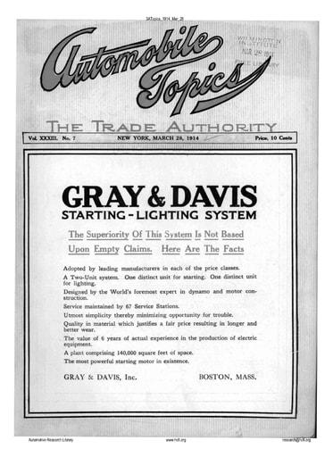 Auto Topics | 1914 Mar 28