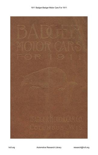 1911 Badger (18pgs)