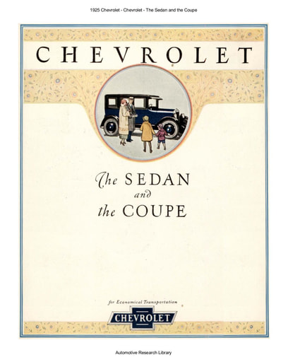 1925 Chevrolet   The Sedan and the Coupe (5pgs)