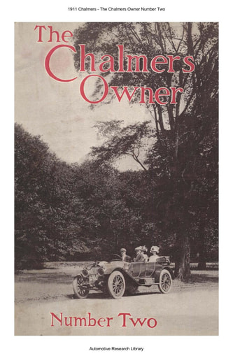 1911 Chalmers   The Chalmers Owner Number Two (43pgs)