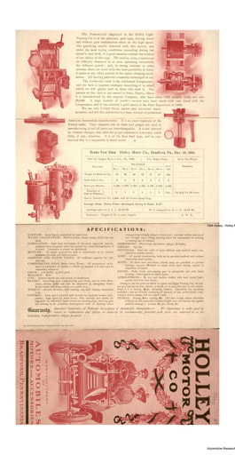 1904 Holley Motor Co (9pgs)