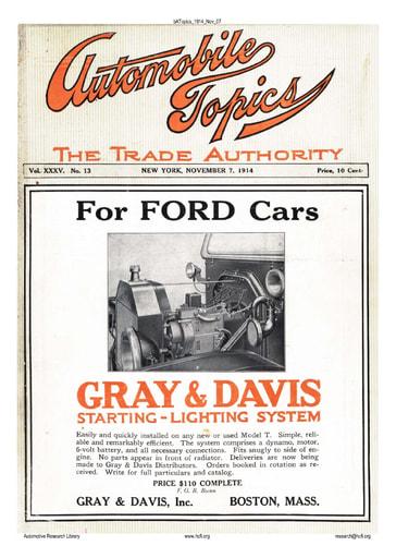 Auto Topics | 1914 Nov 07
