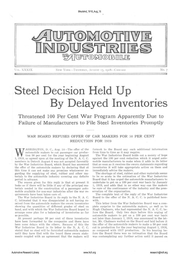 Auto Industries 1918 08 15