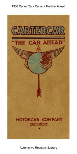 1908 Carter Car   The Car Ahead (18pgs)