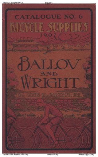 1907 Ballou & Wright