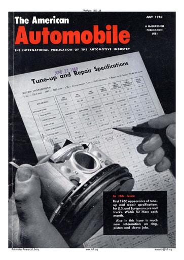 American Automobile | 1960 Jul